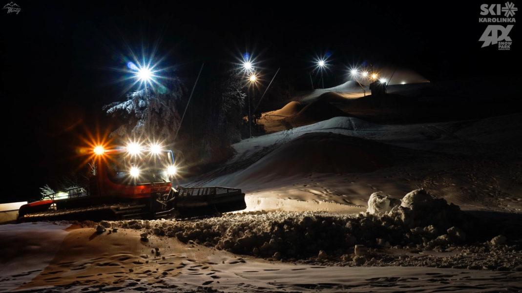 Večerní Skiareál